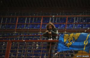 Mr Brovedani had counted on seeing at least a few other Udinese supporters